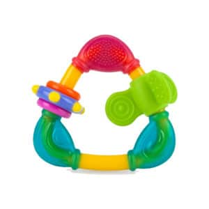 NUBY נשכן סיליקון רך עם קופסא NATURAL TOUCH